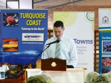 CEO Tony Nottle, Shire of Dandaragan