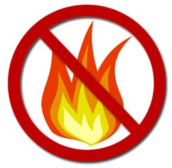 PROHIBITED BURNING PERIOD FROM MONDAY 15 OCTOBER 2018