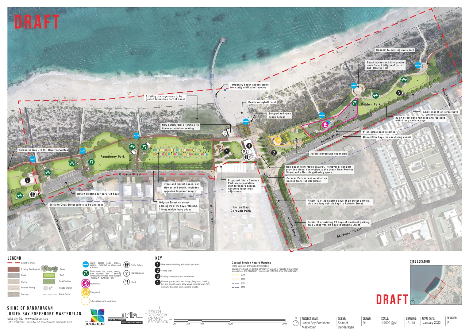 Cervantes and Jurien Bay Foreshore Masterplans