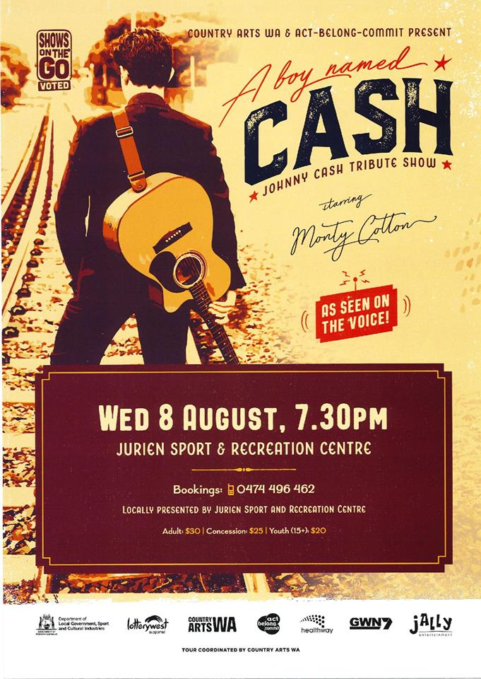 A boy named Cash: Johnny Cash Tribute Show (Jurien Bay)