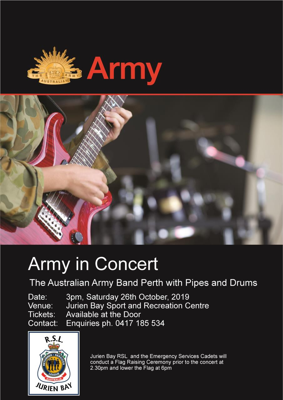 Army in Concert (Jurien Bay)